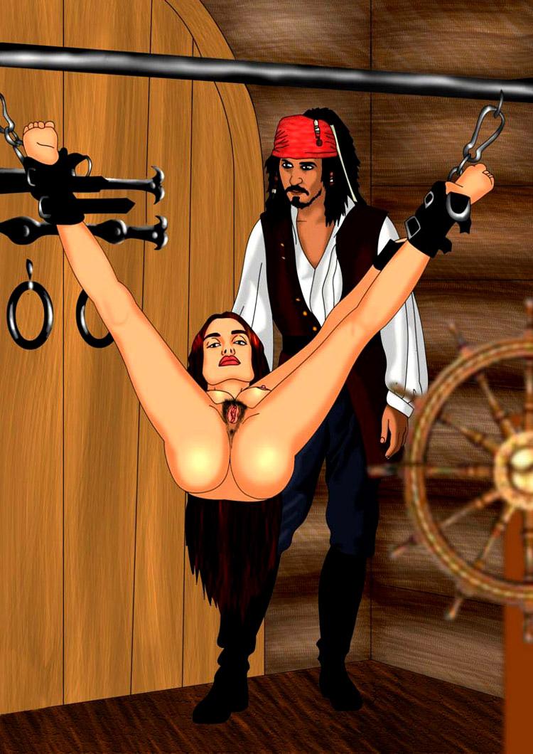Секс пиратский