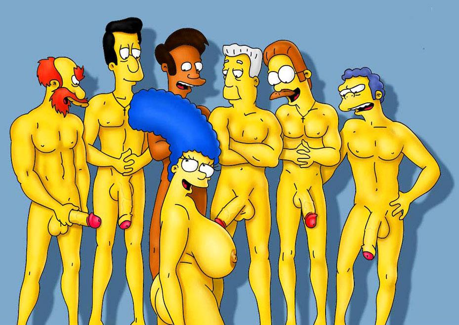 Мардж в трусиках